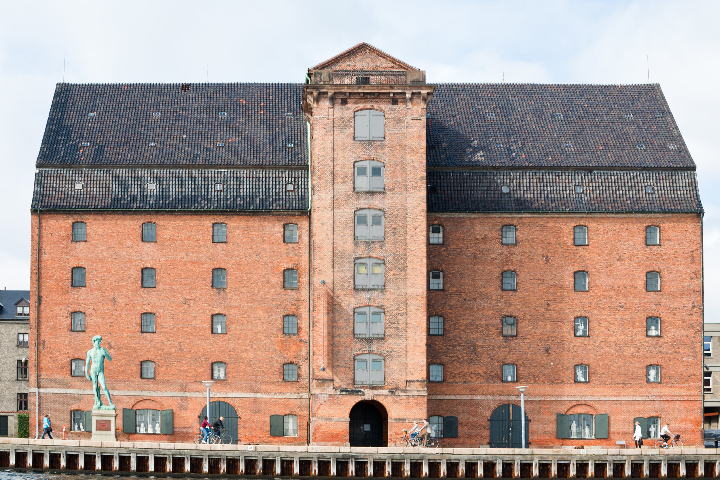 West India warehouse in Copenhagen, currently houses the Royal Cast Collection (Photo credit: Colourbox)