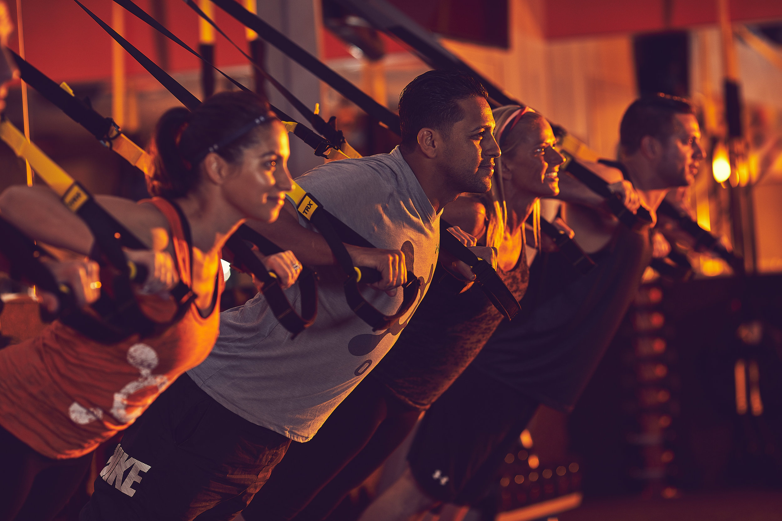 A WORKOUT FOR EVERYONE - Whether you're an athlete or just starting your fitness journey, Orangetheory is designed for all fitness levels. Our experienced coaches provide options that allow you to safely perform movements that work around any physical issues. Walk, jog, run, or ride, you set your own pace. Well…technically your heart rate does.