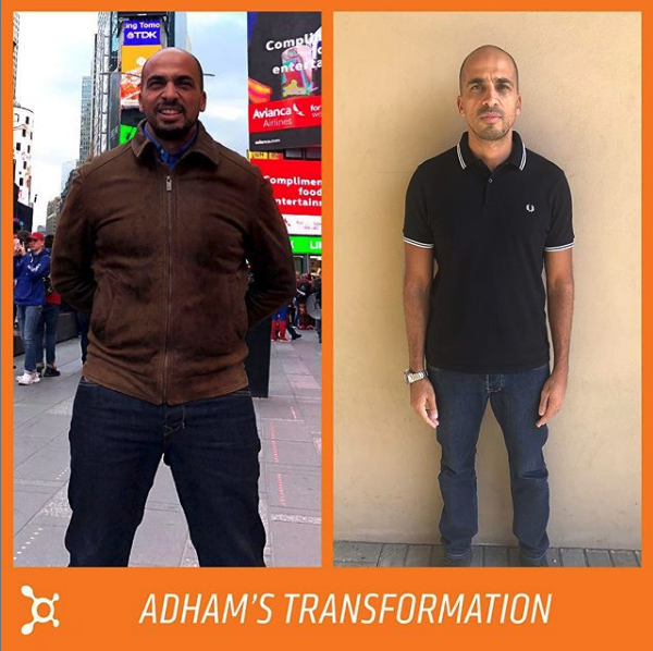 Adham Transformation at Orangetheory Fitness in Dubai