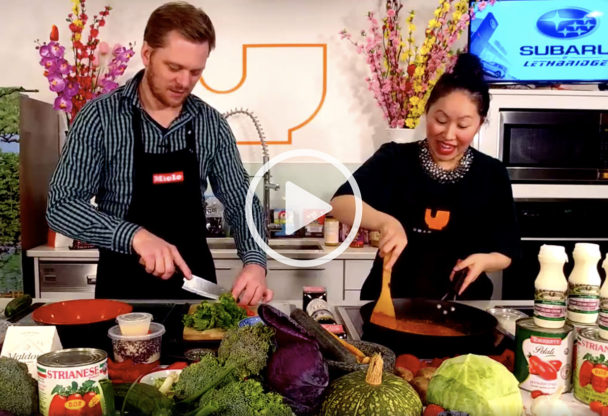 Cooking with Umami Sauce - Watch Patricia and Sven make butter chicken—with Milano!