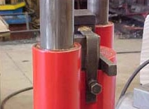 Clamp-on tooling