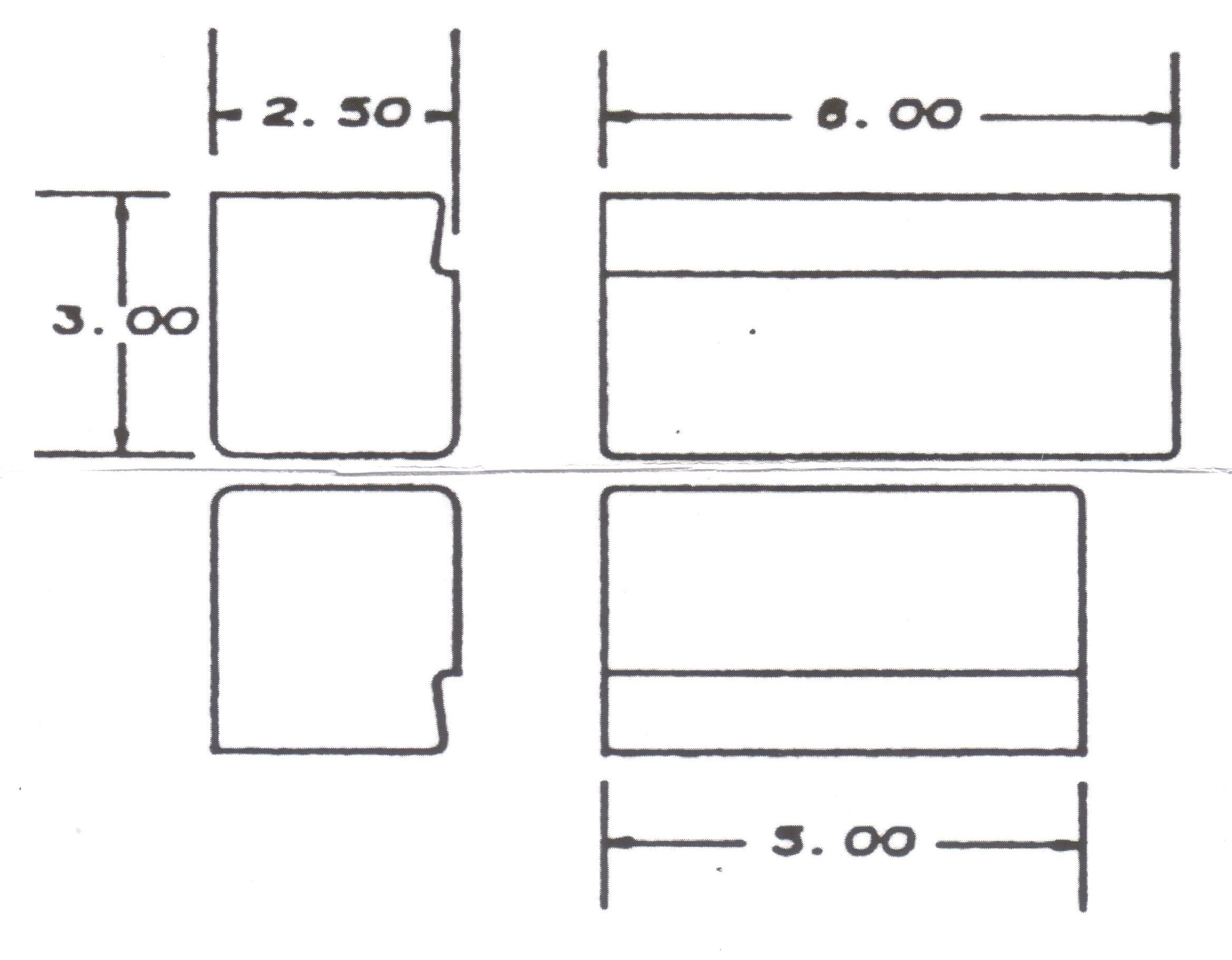 Standard Flat Dies -Top & Bottom Interchangeable $250.00 -