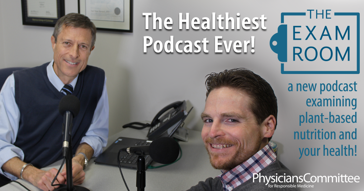 Learn all about the latest in plant-based eating with this fun podcast from PCRM!