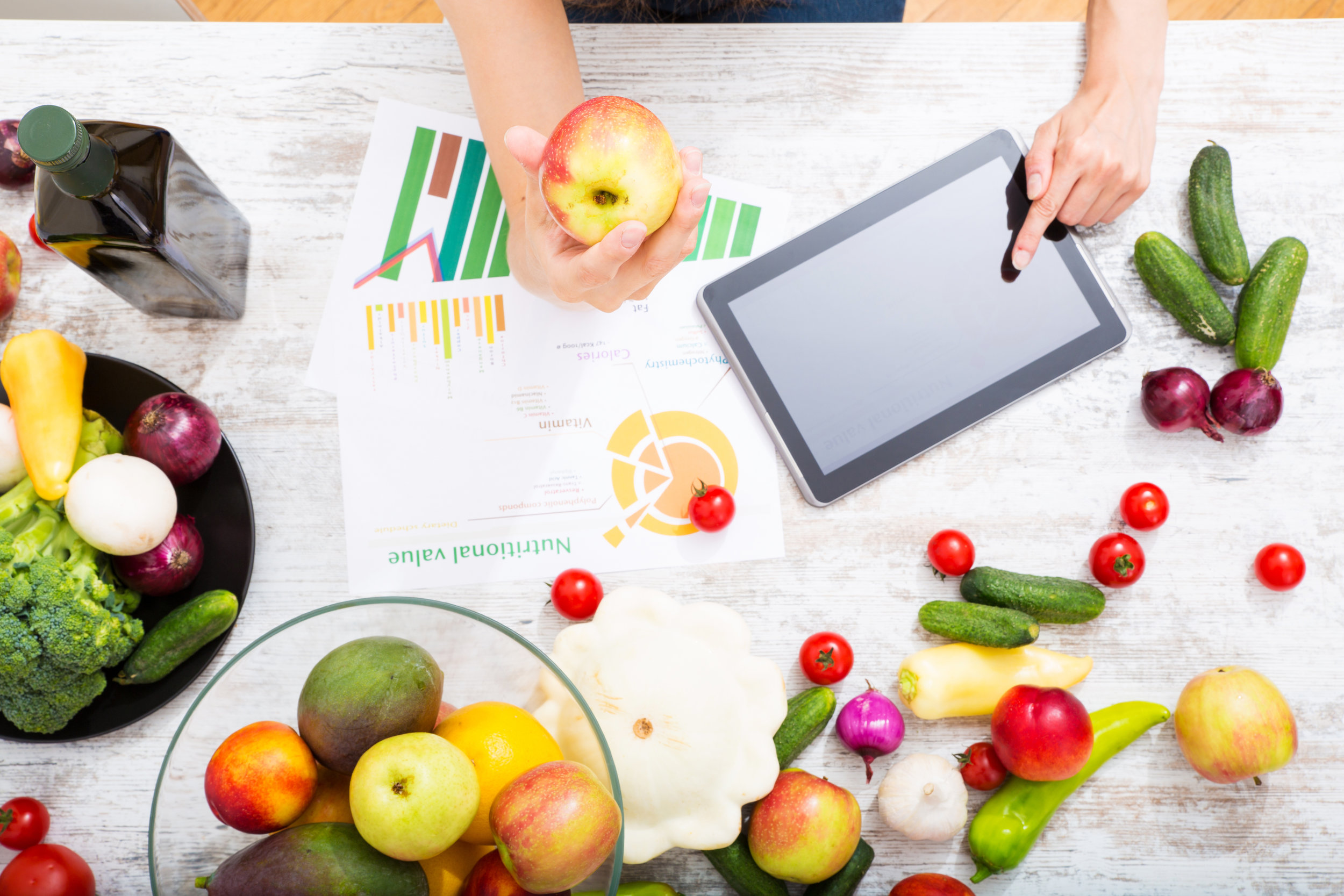 Personalized nutrition consultations and meal plans for your healthy eating goals -