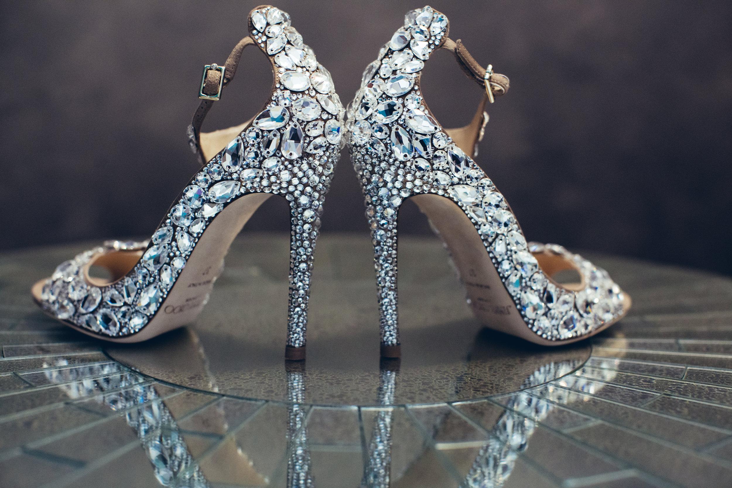 That Jimmy Choo Wedding Shoe — LIFE OF