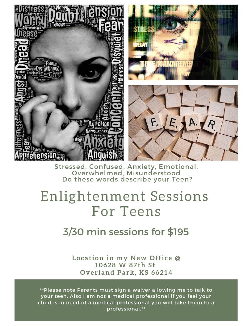 Enlightenment Sessions for Teens & Adolescence