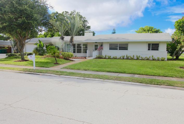 Indialantic home with huge potential. Corner lot with RV or Boat parking.