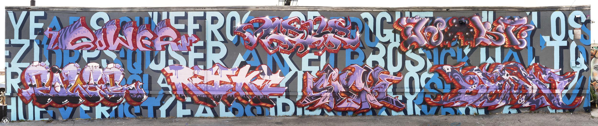 KE Crew // Wall #2