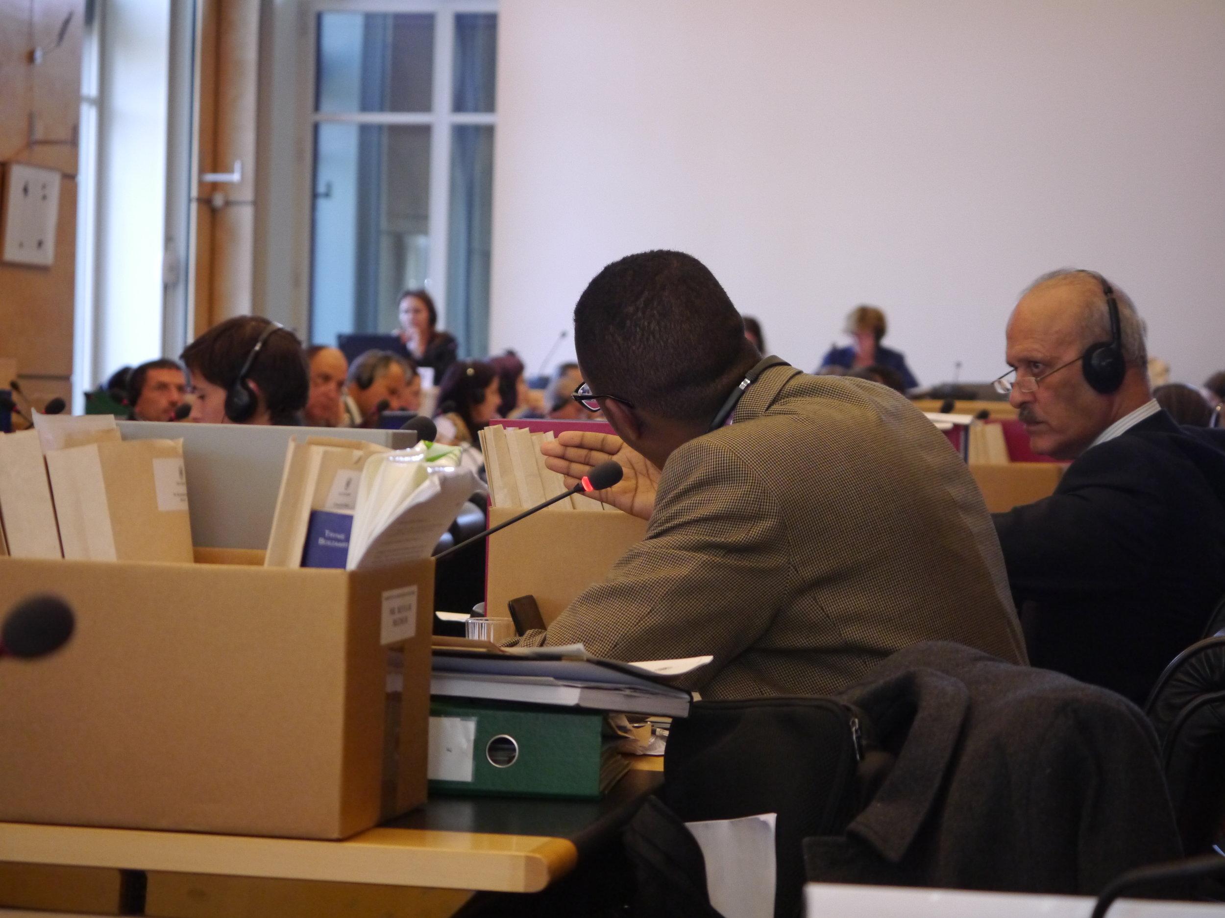 CRC Member Benyam Mezmur, reminding Morocco that 'education is a public good'