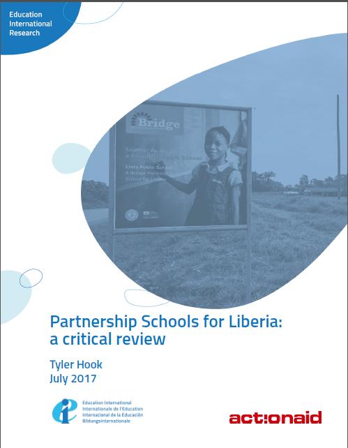 Partnership Schools for Liberia - a critical review