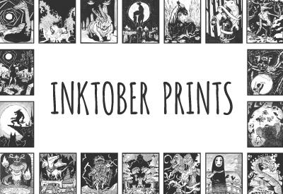 INKTOBER - Prints