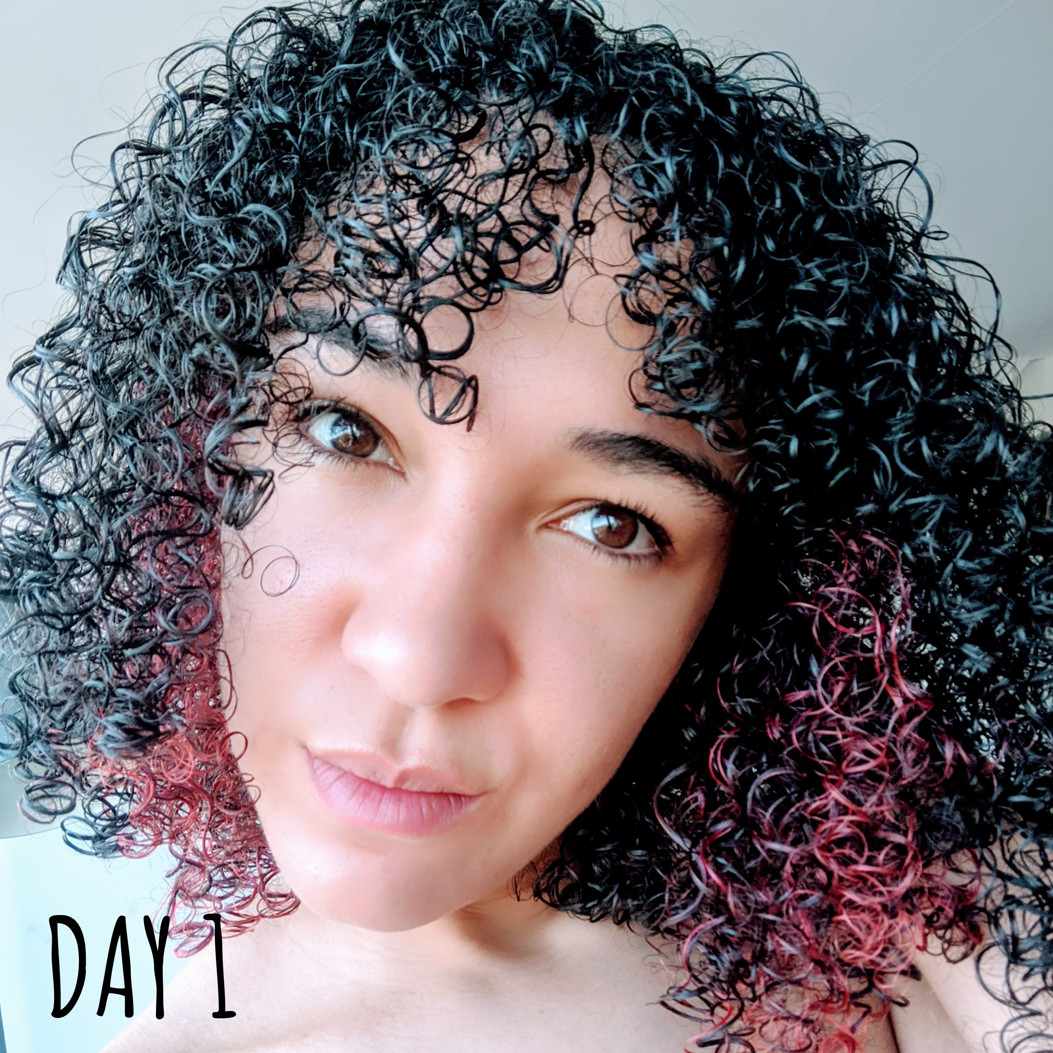 Holy Curls Review Day 1