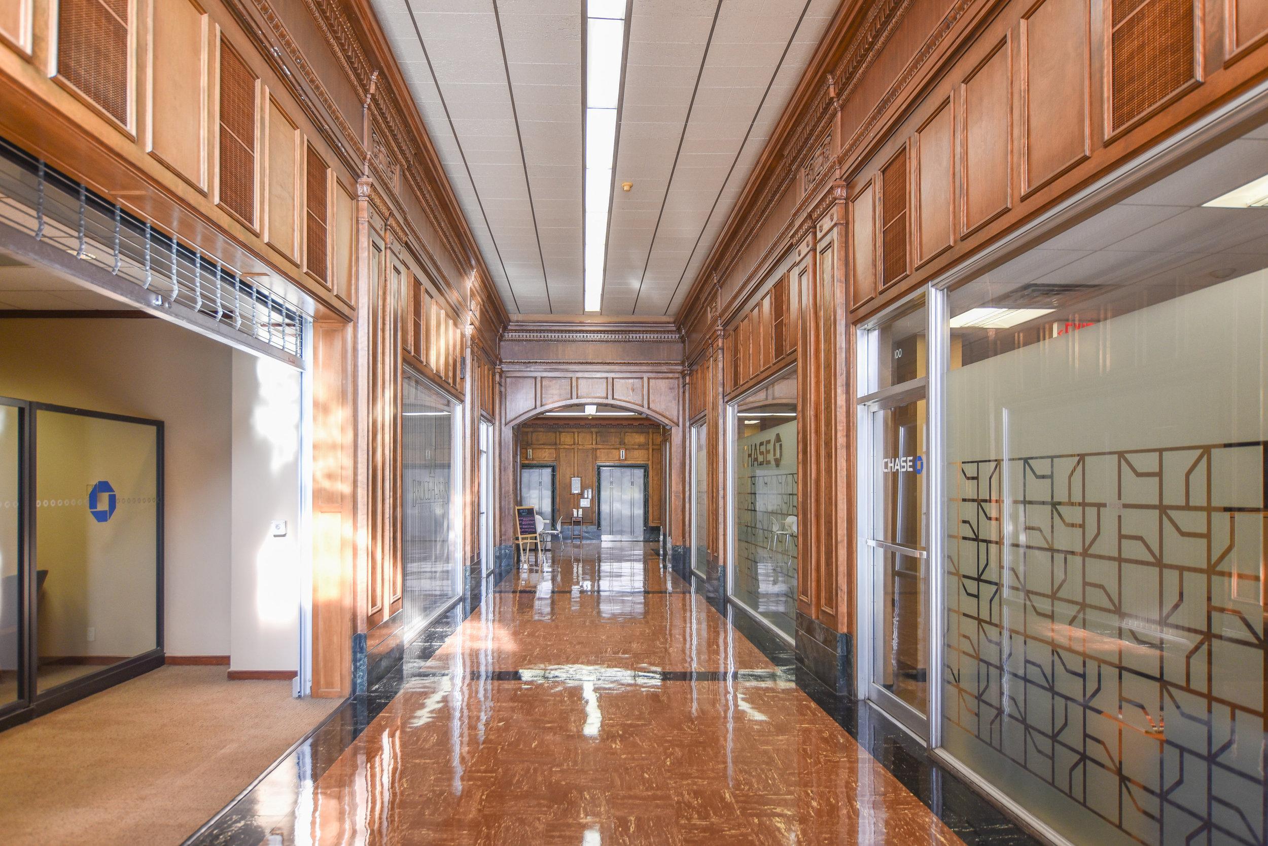 The Hamilton Building Lobby