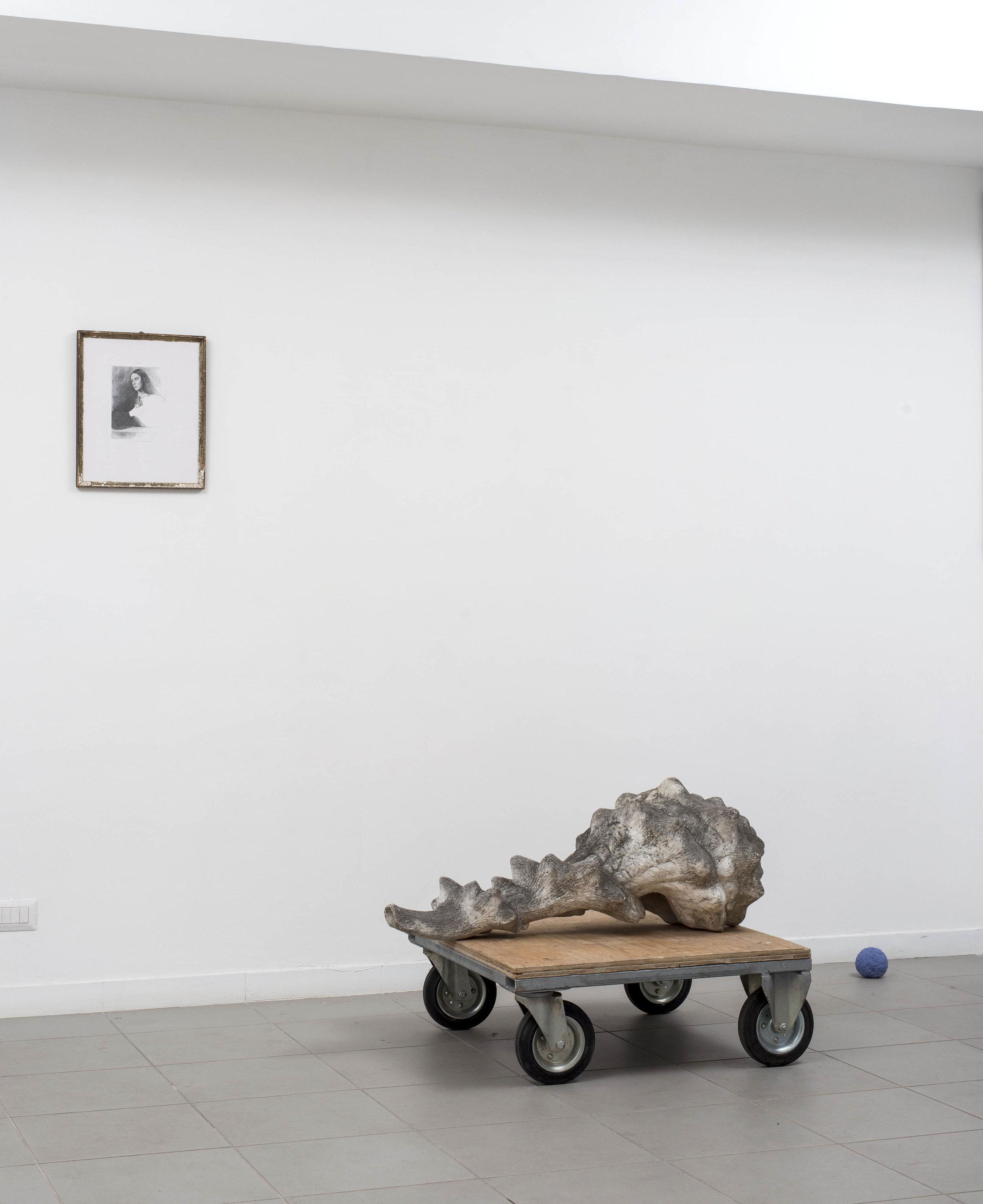 Chiara Camoni, La buona vicinanza , 2009.   Photo by Giorgio Benni. Image courtesy the artist, curators and The Gallery Apart, Rome.