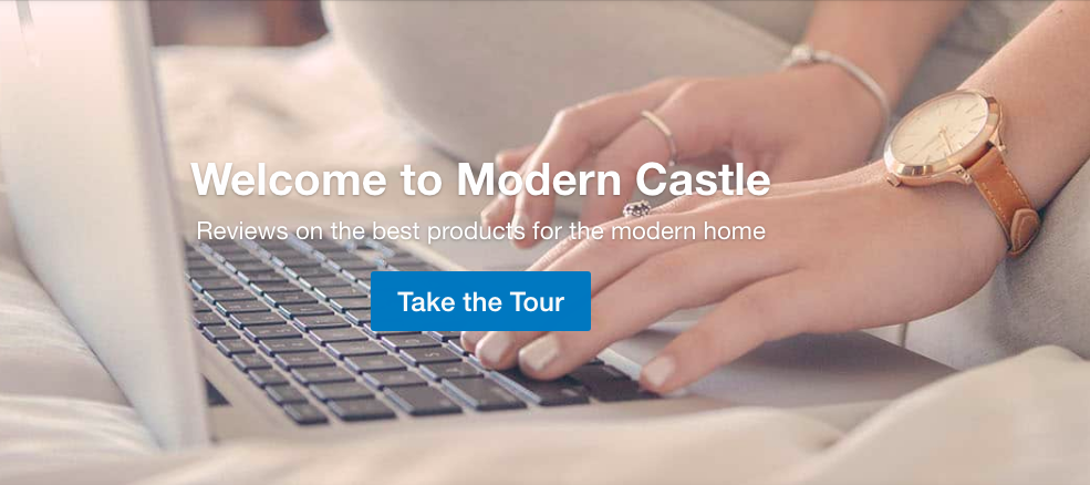 moderncastle.com homepage