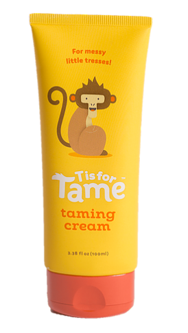 T is for Tame branding (taming cream)