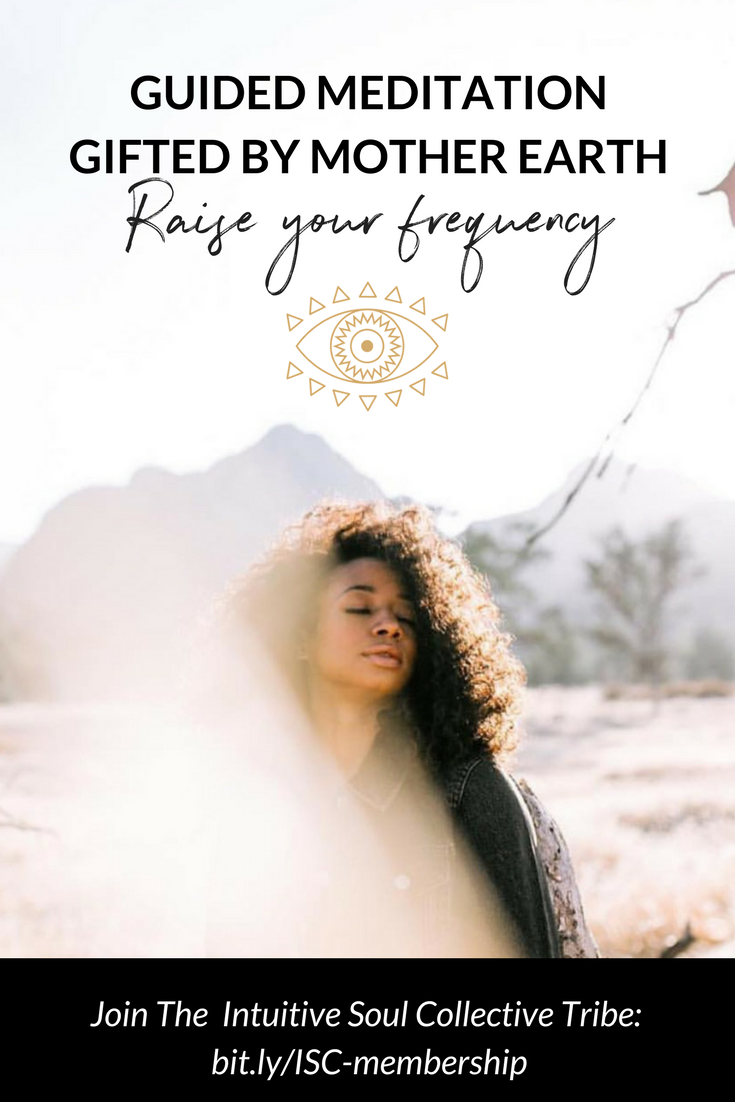 Guided Meditation To Raise Your Vibe - Channeled By Mother Earth - Intuitive Soul Collective  - intuitivesoulcollective.com