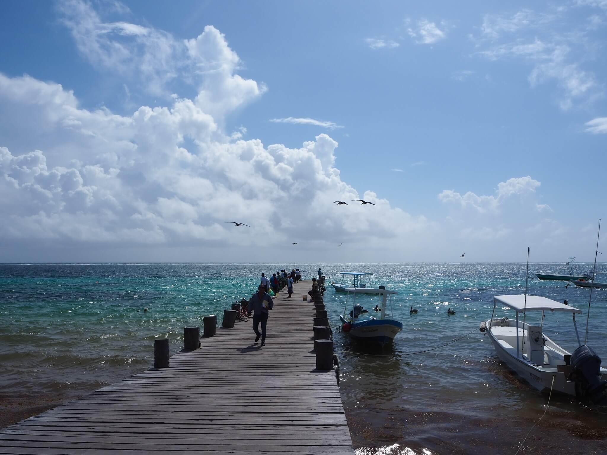 Puerto Morelos port.JPG