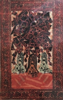 """The Mosque - woodblock 12"""" X 16"""" (2012)"""
