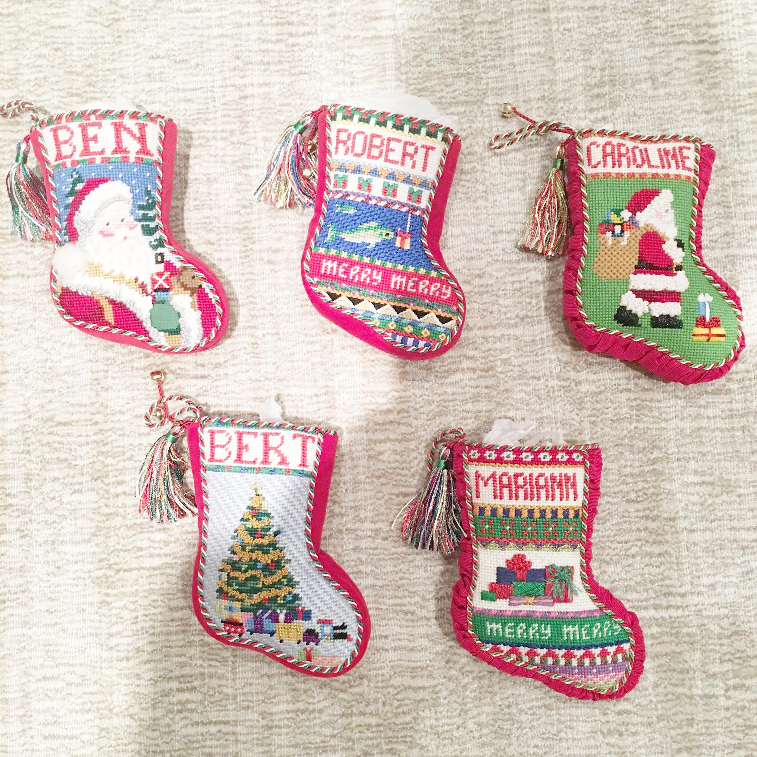 Mini Socks with Gusset & tassels
