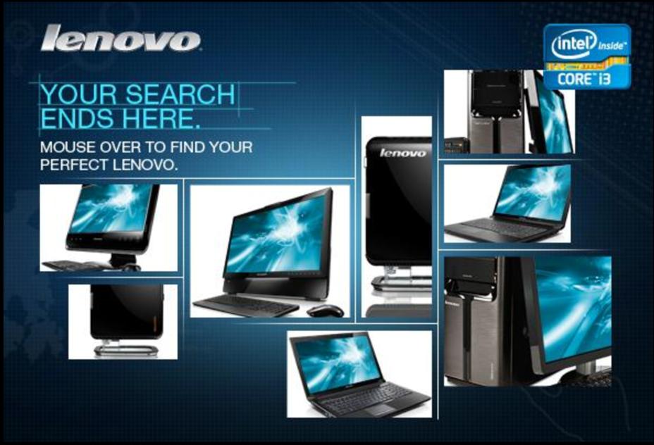 Lenovo + Best Buy Web Banner