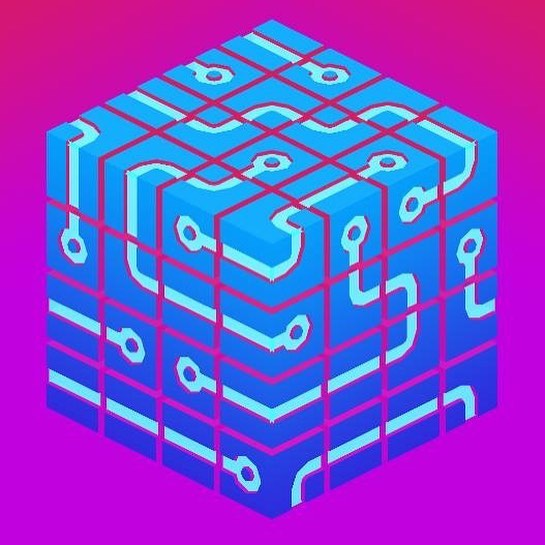 Who loves colour?? We do! Wanna see more colourful puzzles? Keep a weather eye on our page 🧡💜💖😍 #colour #cubes #rubikscube #puzzle #puzzlegame #solvethecode #technologic #technology #glitch #gitch #games #mobilegame #mobiledev #gameartist #programming