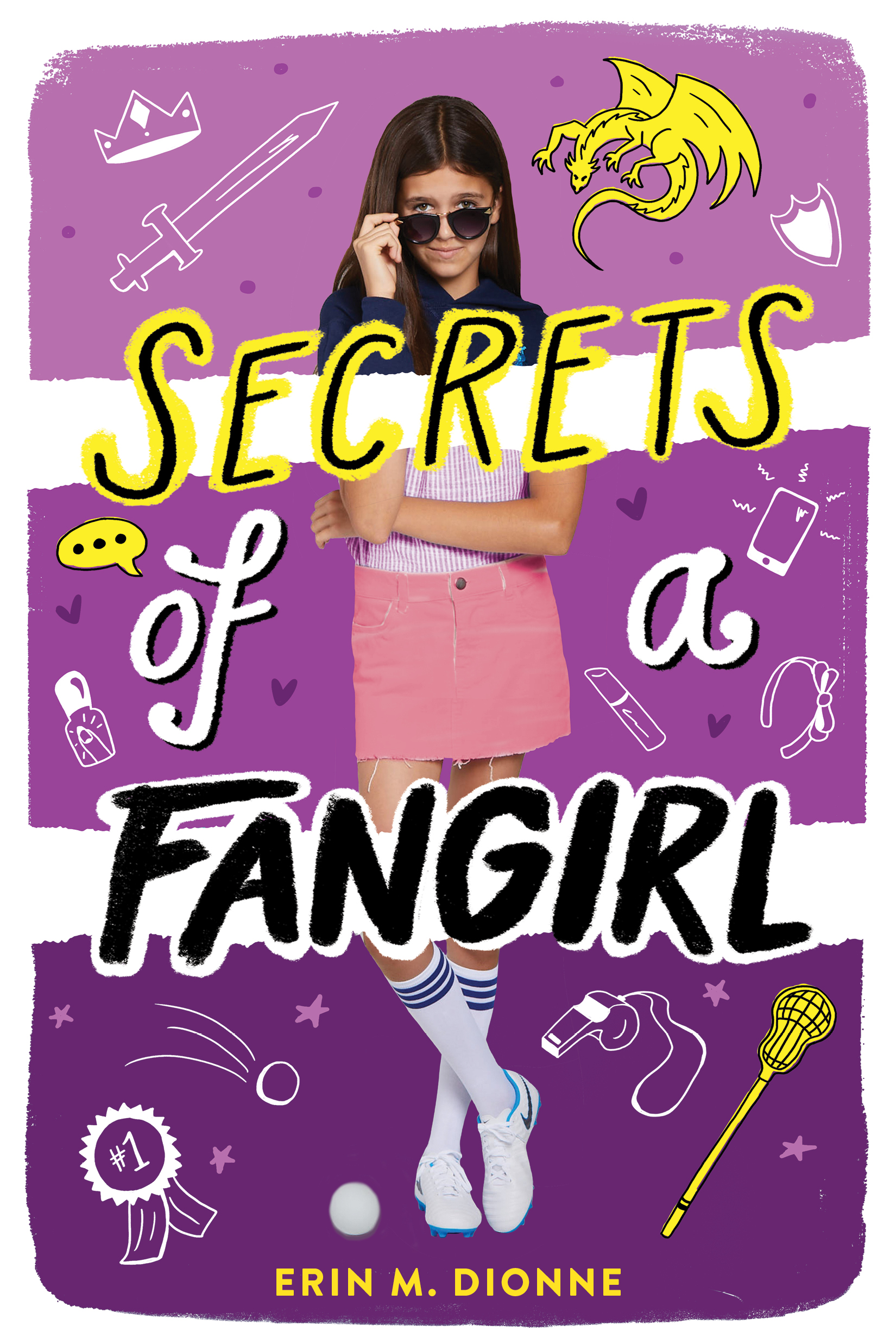 Dionne, Erin - Secrets of a Fangirl - Scholastic US, front cover.jpg