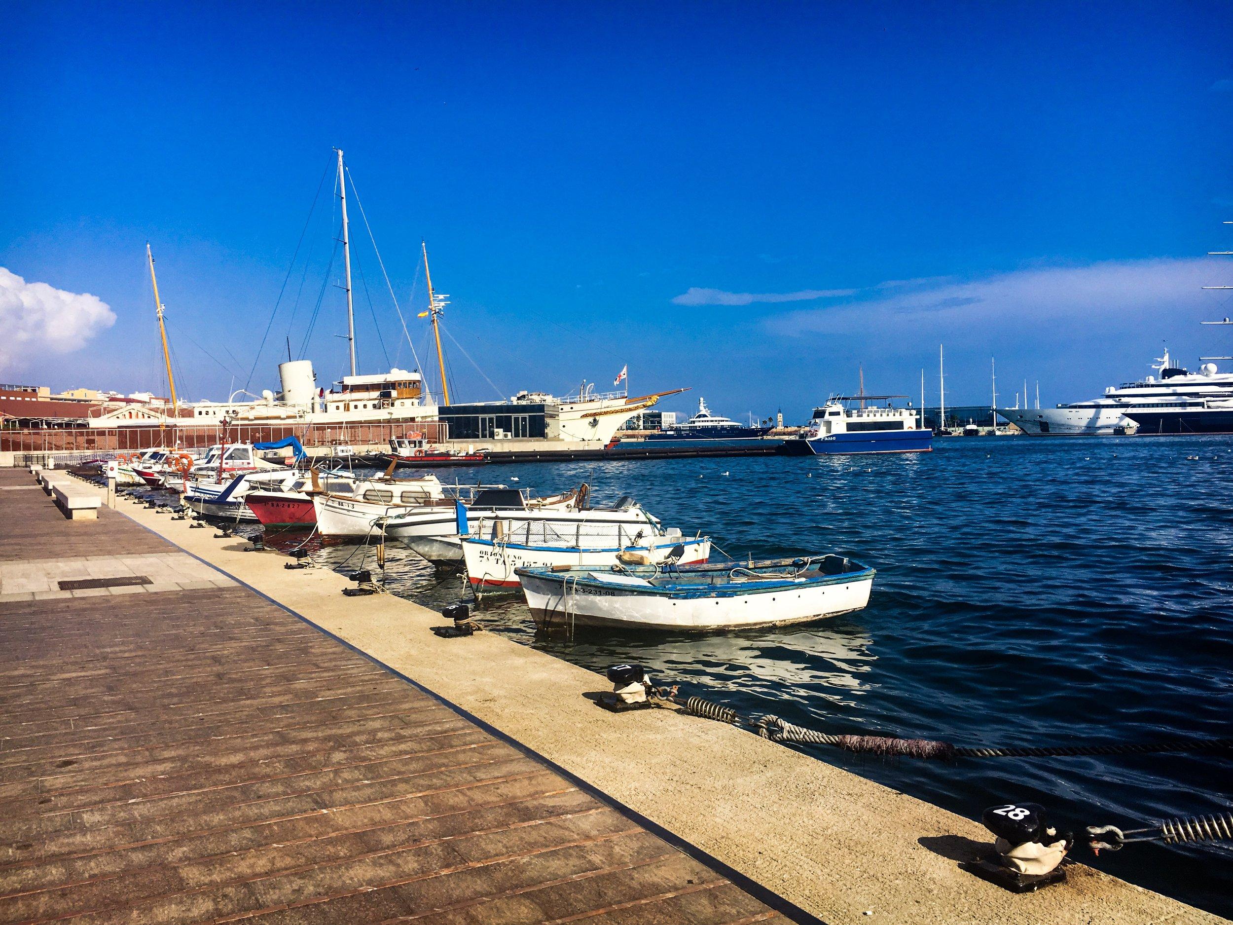 Port in Tarragona, Spain