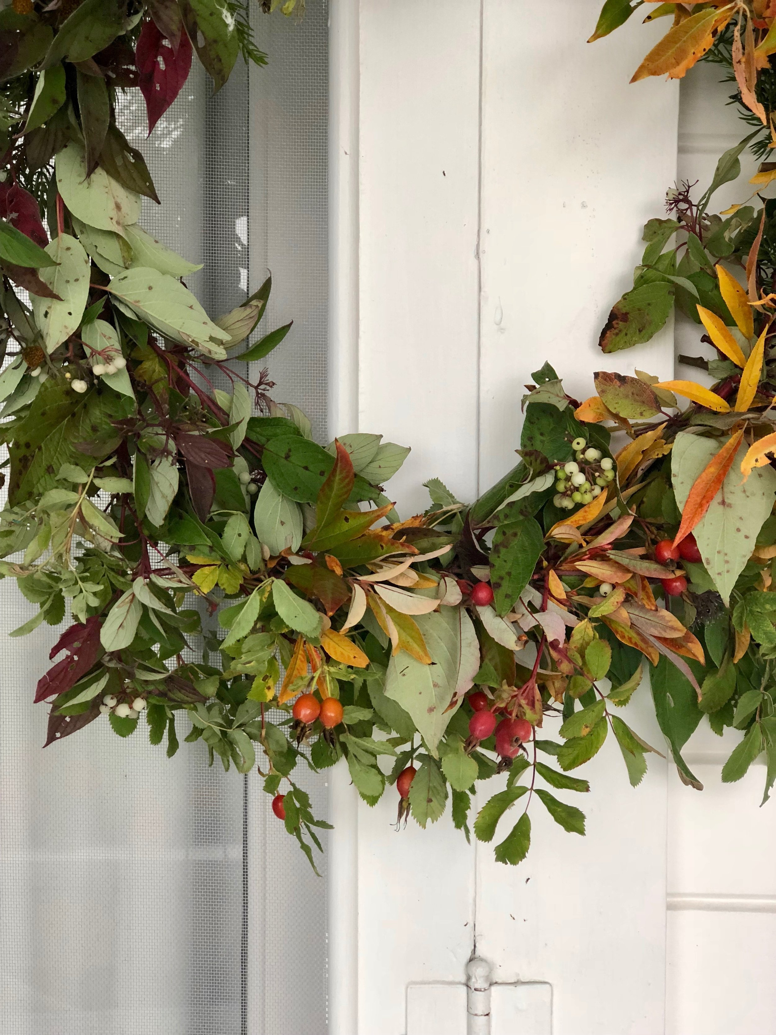 NECTAR + BLOOM || Foraged Autumn Wreath