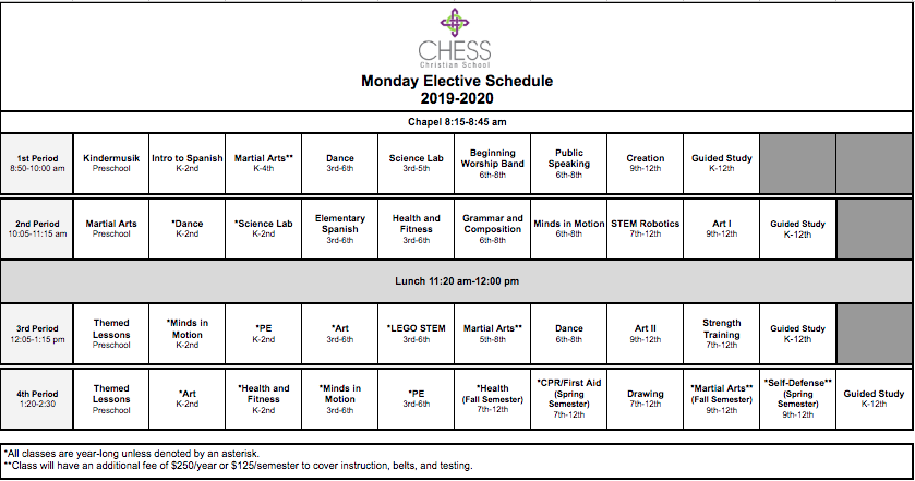 Monday Elective Schedule 2019-2020.png