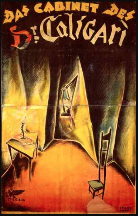Poster for the film  Das Cabinet des Dr. Caligari  ( The Cabinet of Dr. Caligari )   (1920)