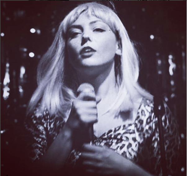 Animal Print Dress, 2016 - Angel Olsen performing as Gwen Stefani for NYE cover show