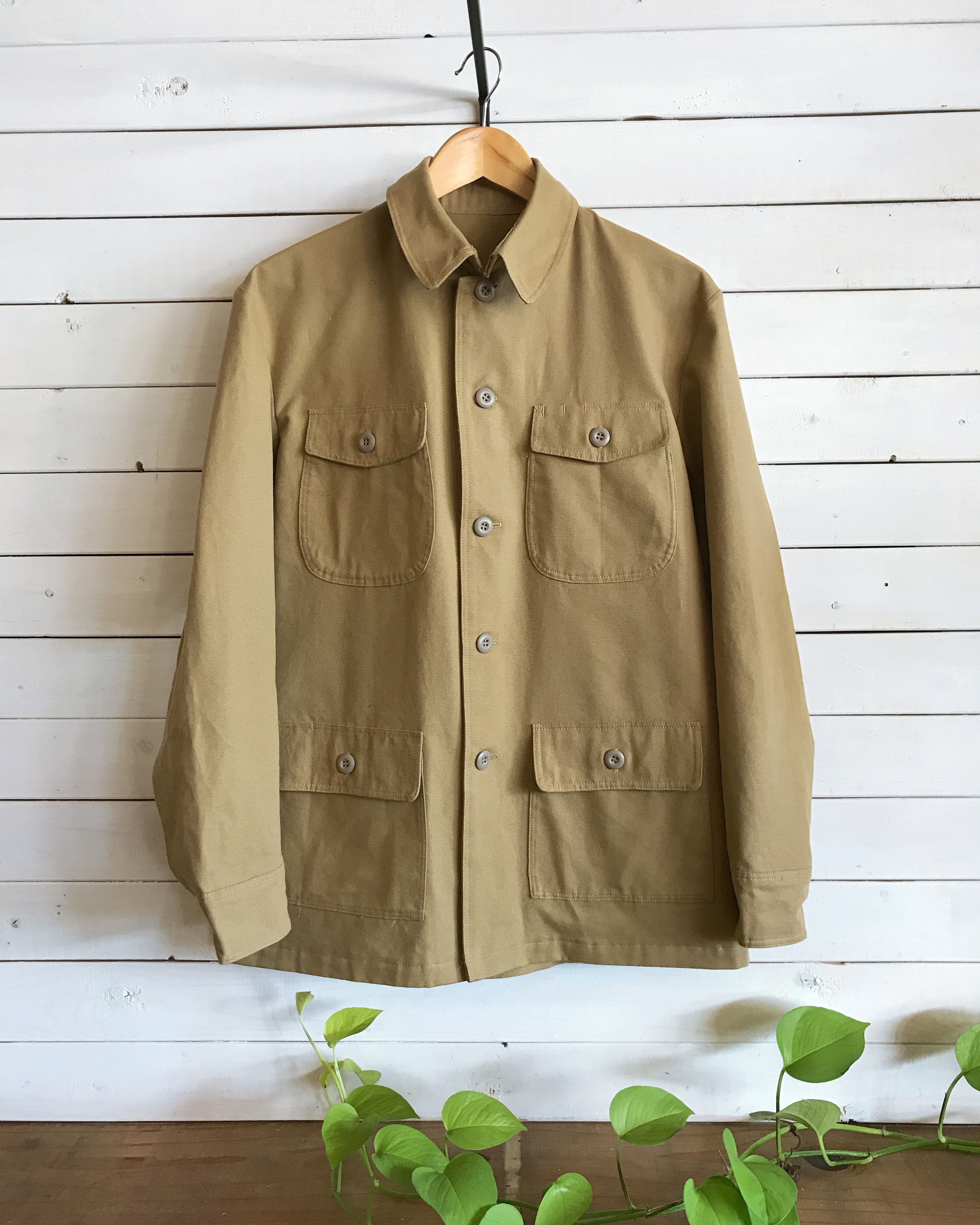 J's Coat Updated, June 2018 - Updated pocket size w/ pen pocket placement and slimmer fit