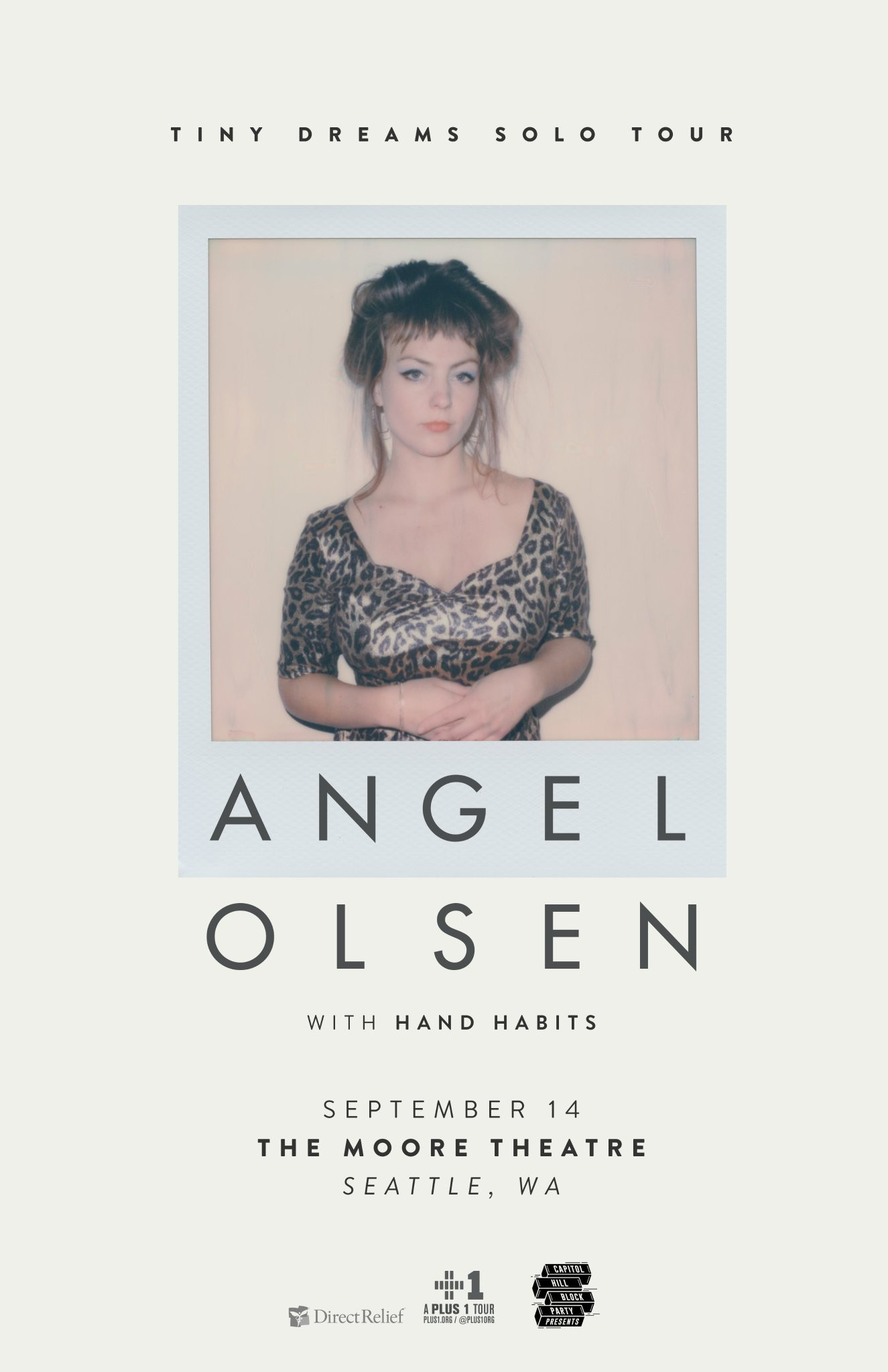Angel Olsen Tour Poster, 2018 - Polaroid Photographer TBA