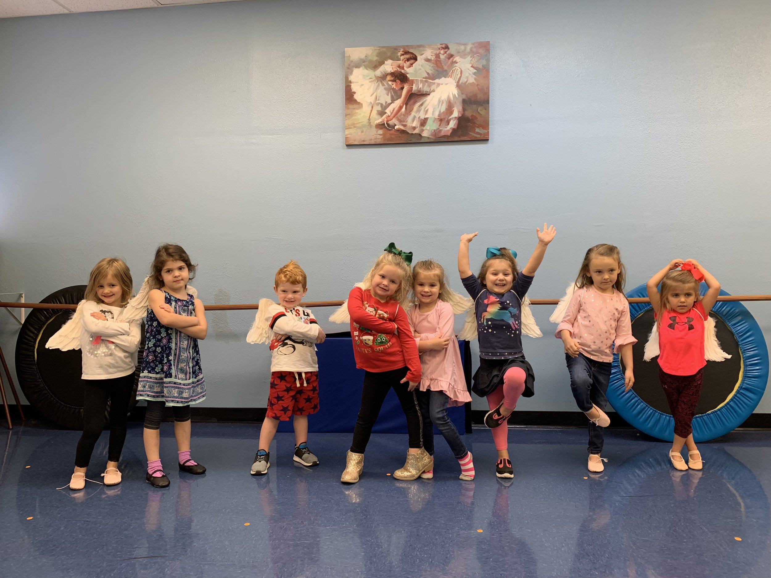 CCA Preschool Dance: - Students learn the fundamentals of Ballet, Tap, Jazz, and Hip Hop! Preschool dancers perform in school events and programs!