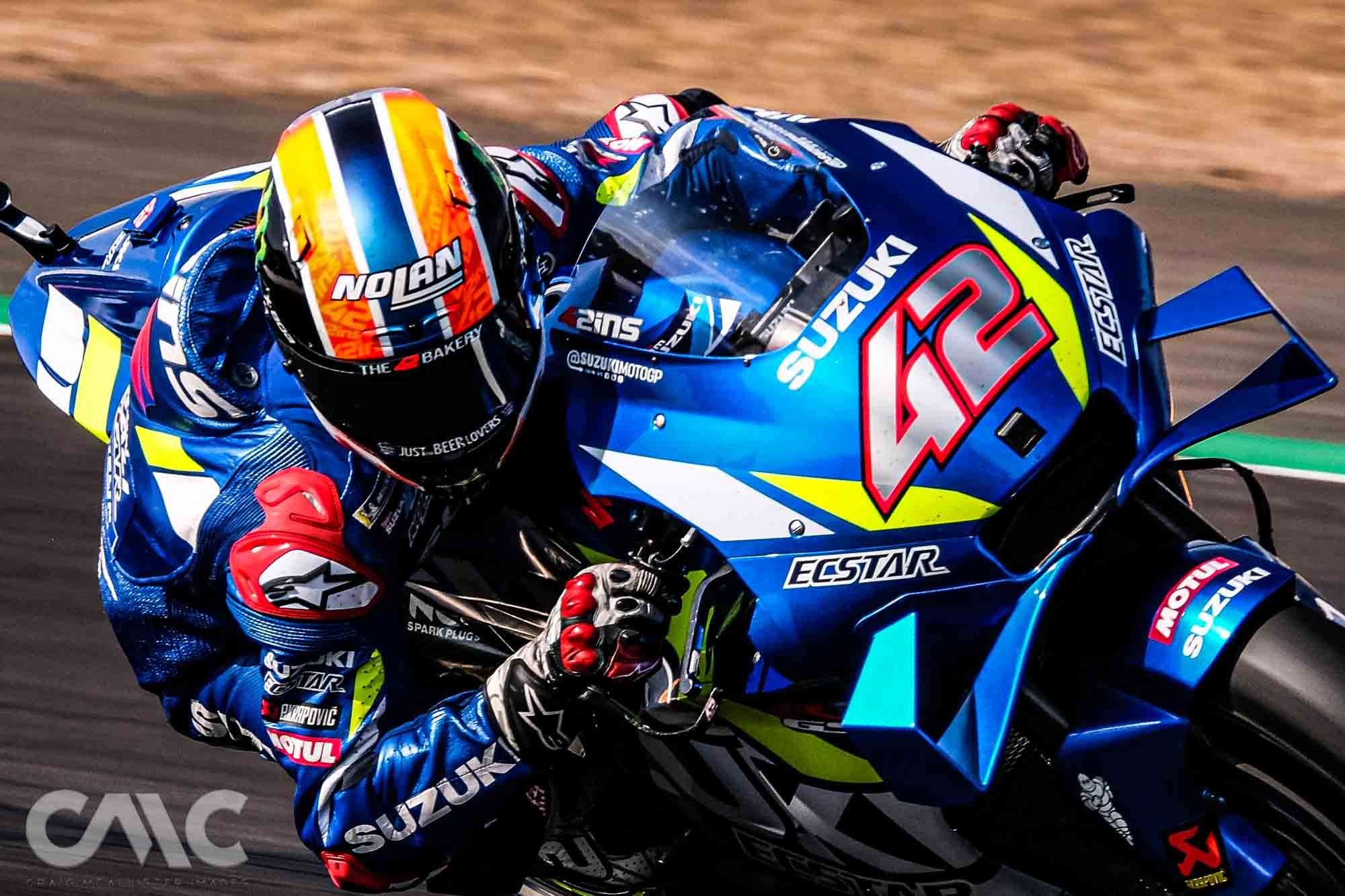 2019 BRITISH GP          WINNER - #42 Alex Rins on the Ecstar Team Suzuki Moto GP