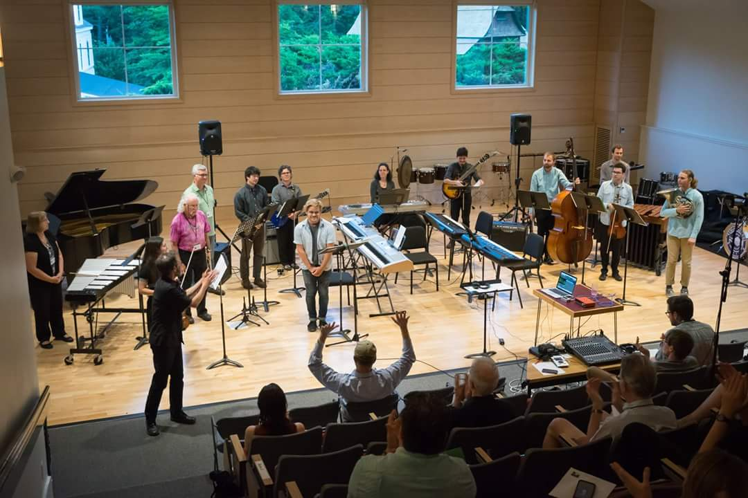 """Performing Rzewski's """"Coming Together"""" at The Walden School"""