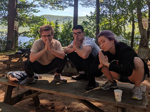 squadding it up on the last day  thanks y'all for the friendship, sonic meditations on the dock, and amazing music-making