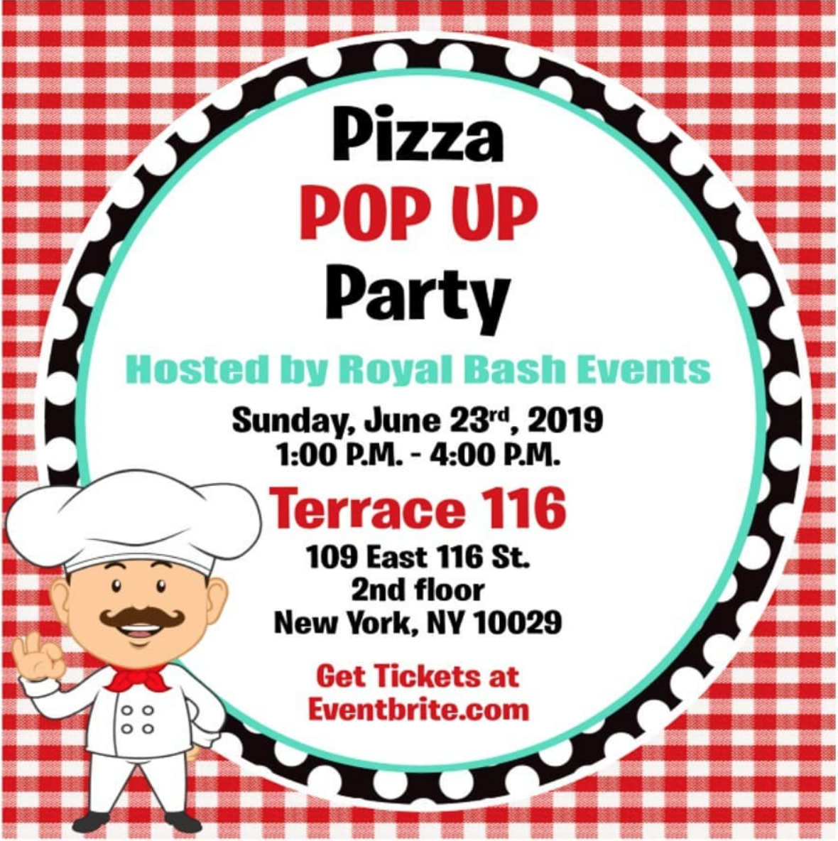 GET TICKETS ! - Our new pizza pop up party is coming.