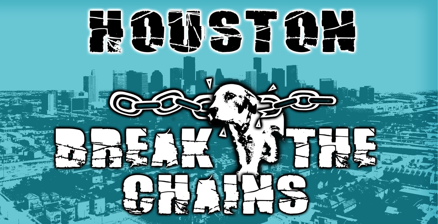 Click above to support the Houston Break the Chains initiative. -