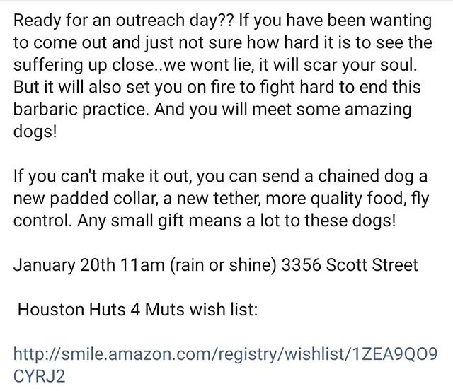 Out reach day! Join us!