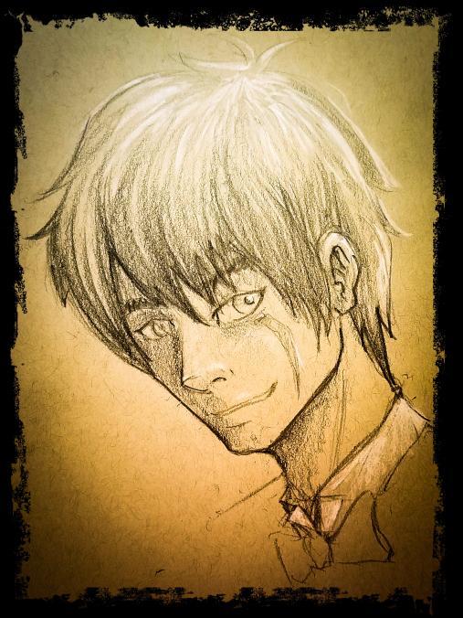 Daisuke Hana portrait done by  Stylus
