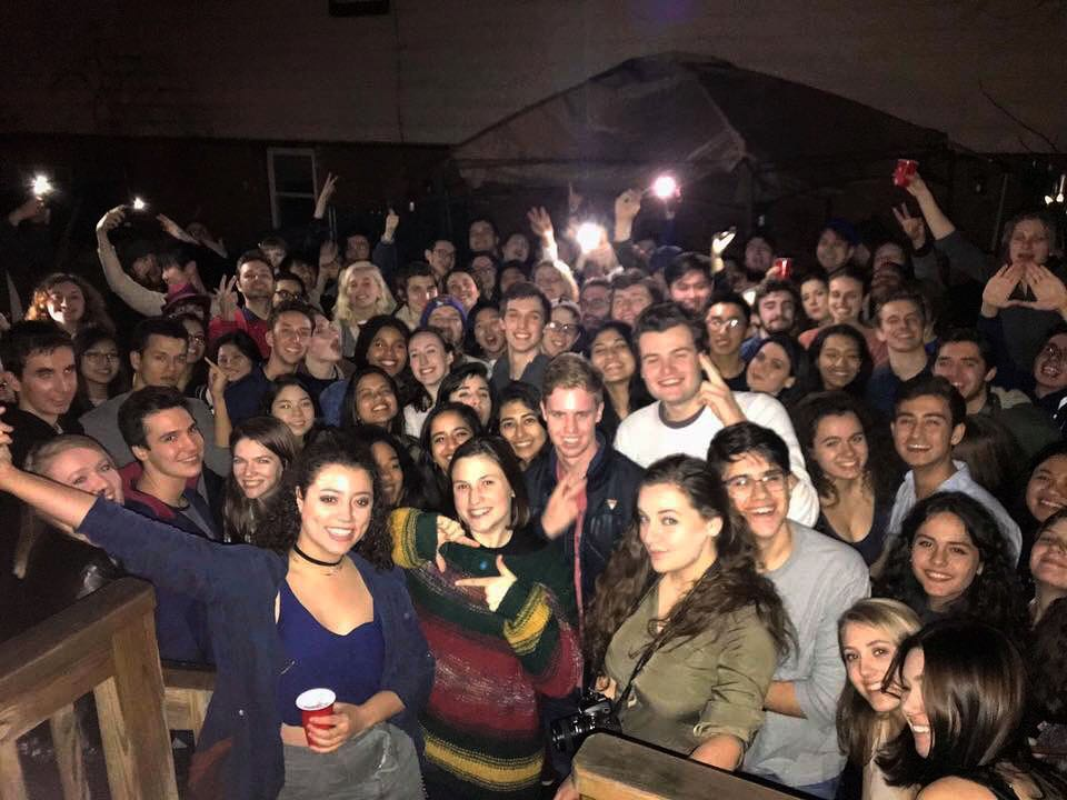 NY State DKA Inter-chapter Meetup with NYU, Ithaca College, and Syracuse, February 2018