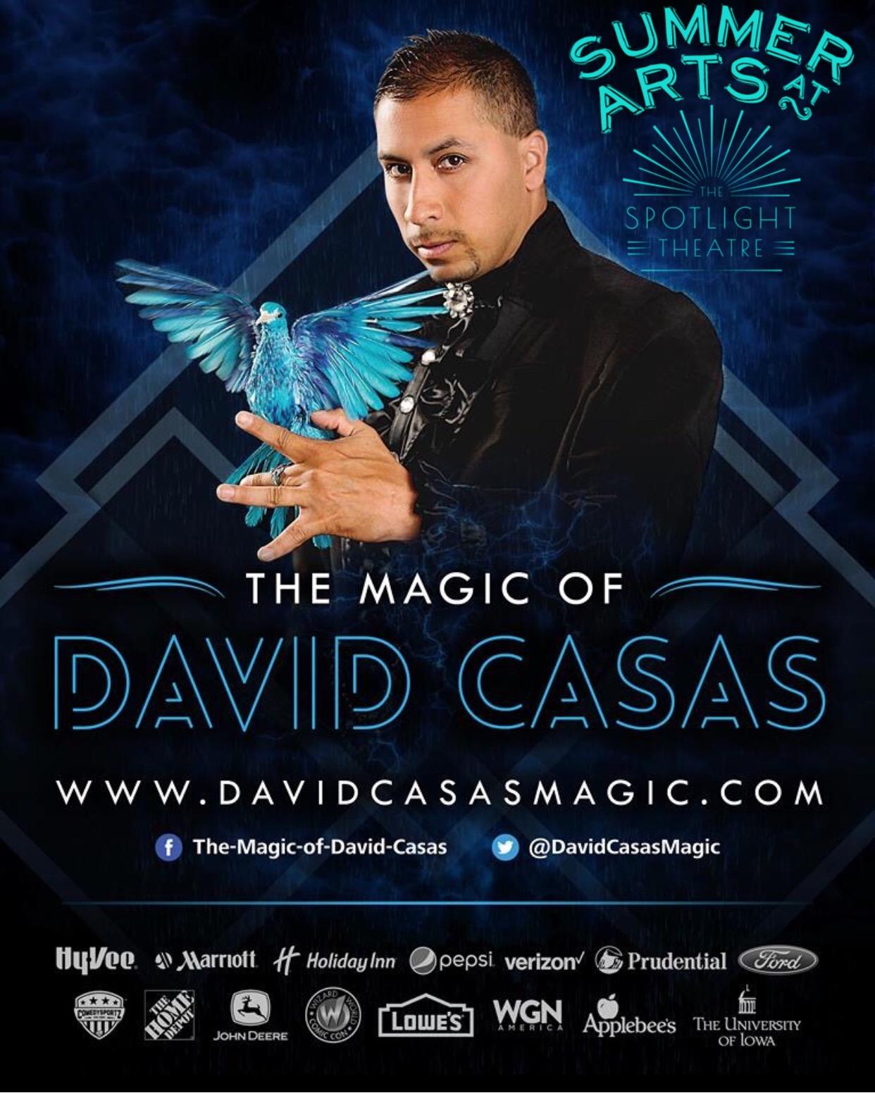 David Casas Magic Camp - July 8th - 12th