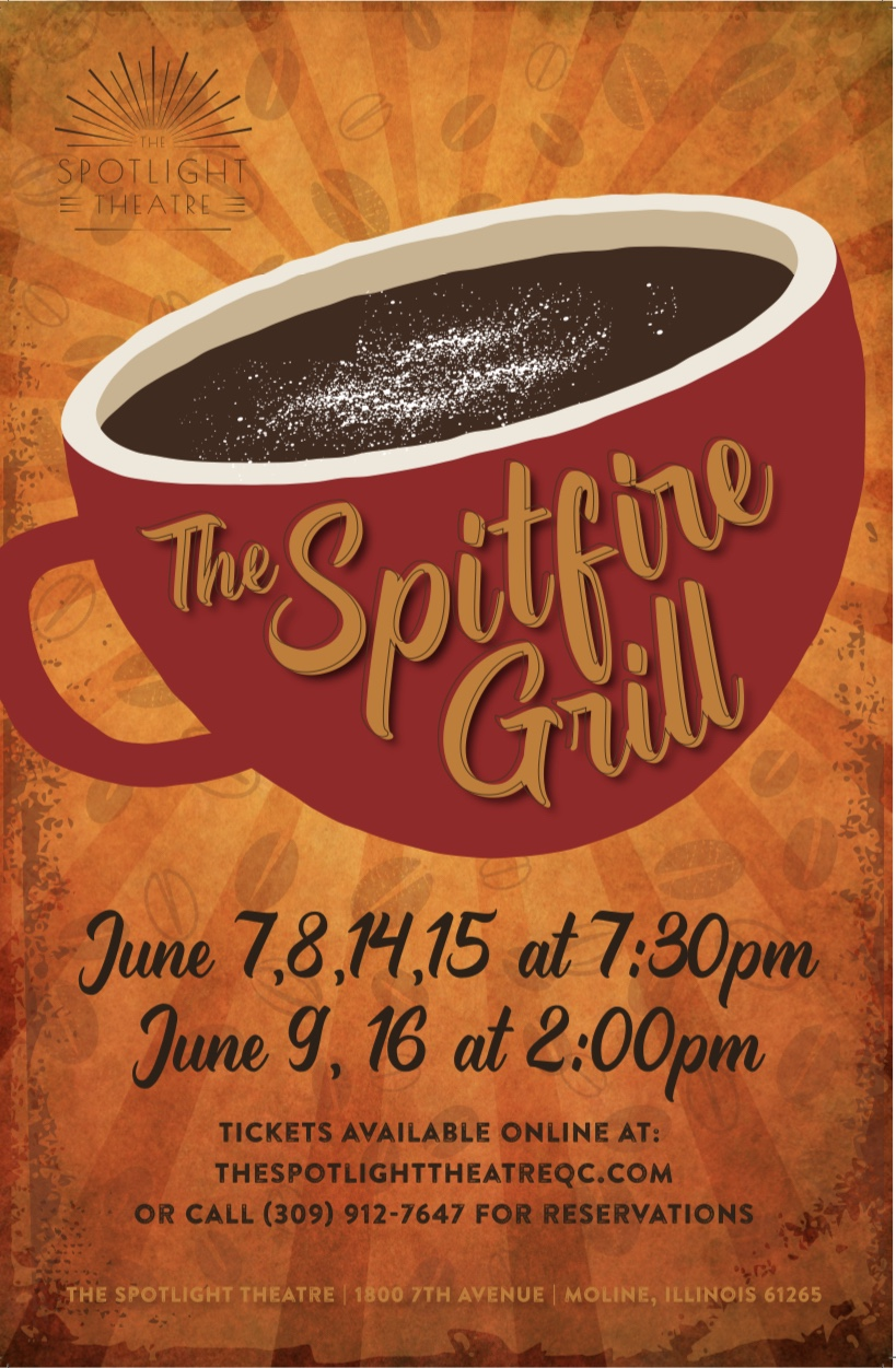The Spitfire Grill - June 7, 8, 14, 15 at 7:30 p.m. and June 9, 16 at 2:00 p.m.