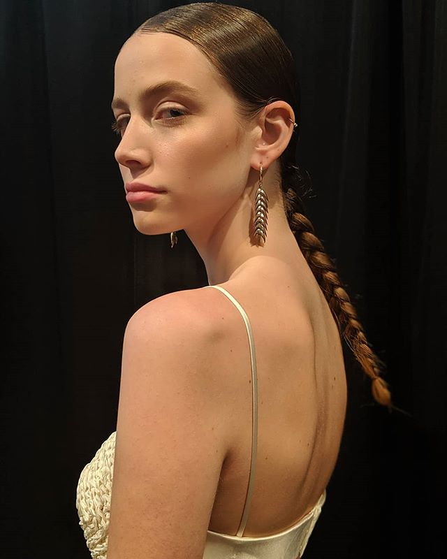 @bevza SS20 Kay hair #kienhoang +@oribepro team #teamoribe  #NYFW  #oribeobsessed #nyc #braided