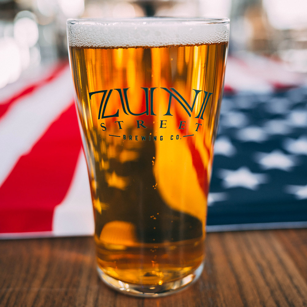 AMERIPILS ABV: 4.5% IBU: 21 A wonderful blend of classic German brewing and American innovation, AmeriPils is brewed as a German Pilsner, but with American hops. Delicate use of Pacific Northwest hops brings a bright hop pop to this easy drinking German delight.