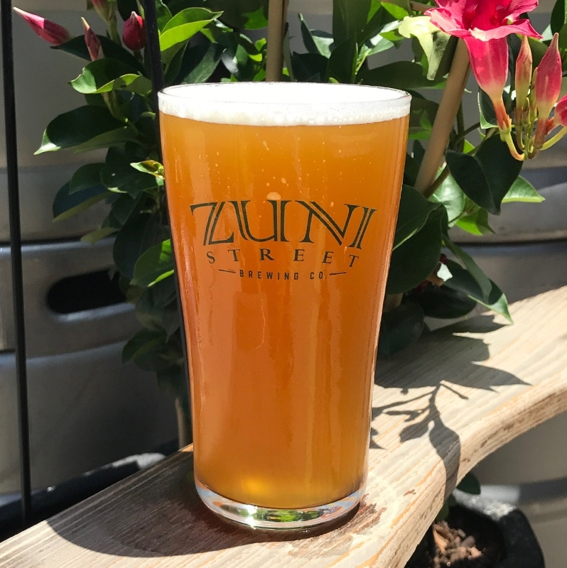 BACK TO BETA SAISON ABV: 8.4% IBU: 21 Zuni Street's dry summer Saison. With aromas of farm fields and stone fruit, this French beer has a massive malt bill which serves up an elevated ABV kick.