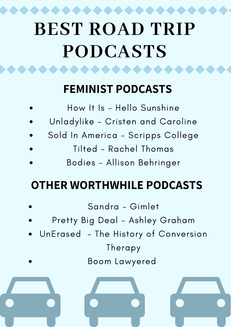 Need Some Entertainment on the Road? - Interested in hearing more about these podcasts? Read: Road Trip Jams and Podcasts