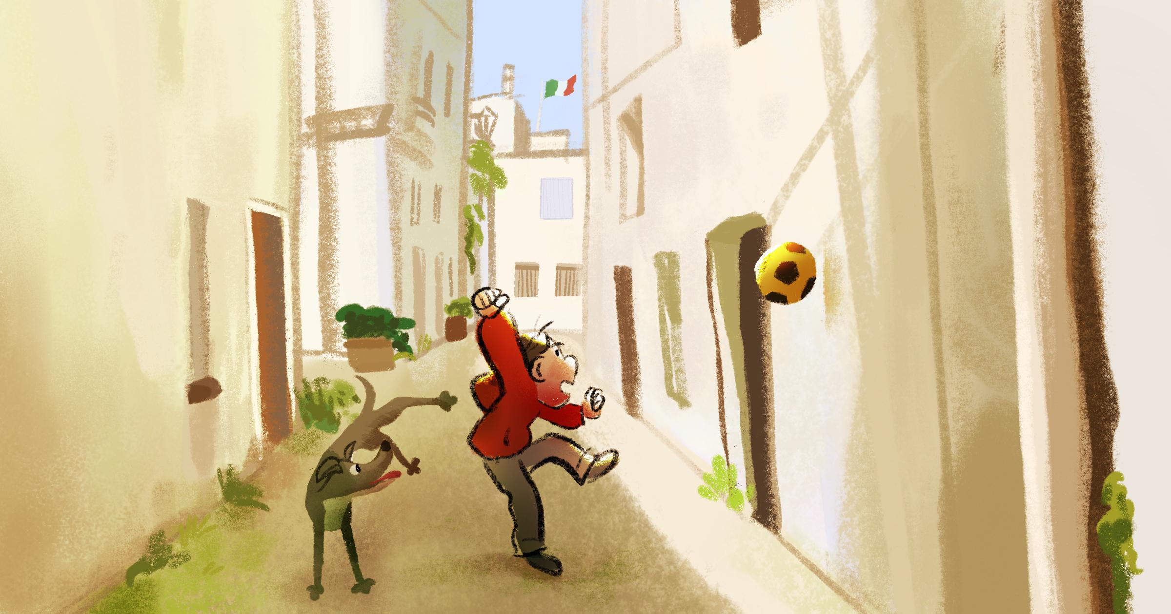 Italy by TA-DA! team artist Kelsey Suan